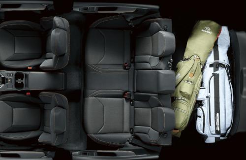 XV車内全体写真