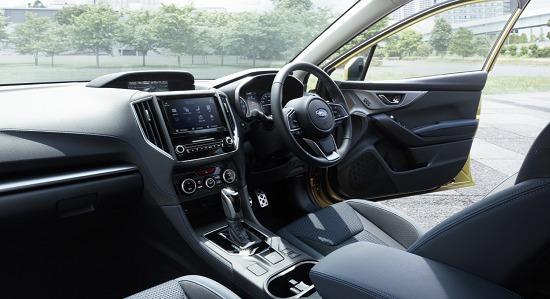 XVの運転席内装