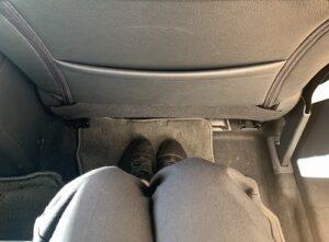 キックス後部座席1