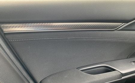 シビックのサイドドア(車内側)